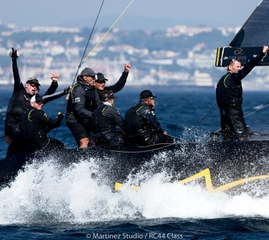 RC44 World Championship record third title for Team Nika