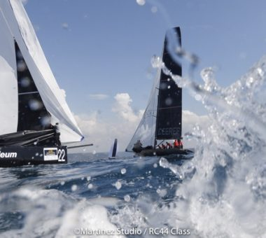RC44s return to where it all began